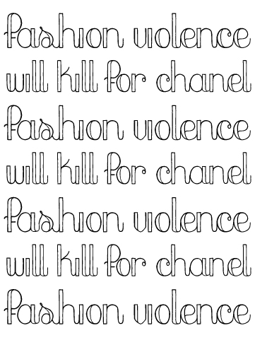 fashionviolence
